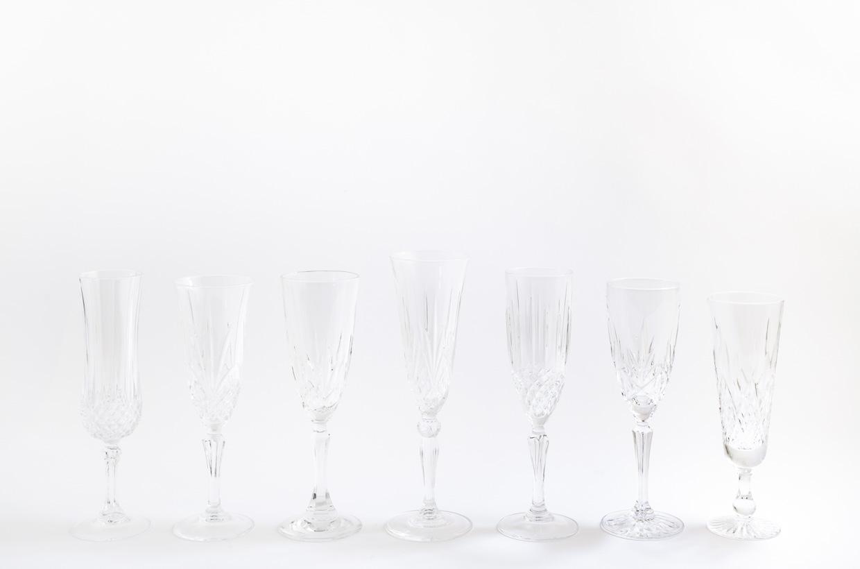 Hélène Millot - Crystal Flutes