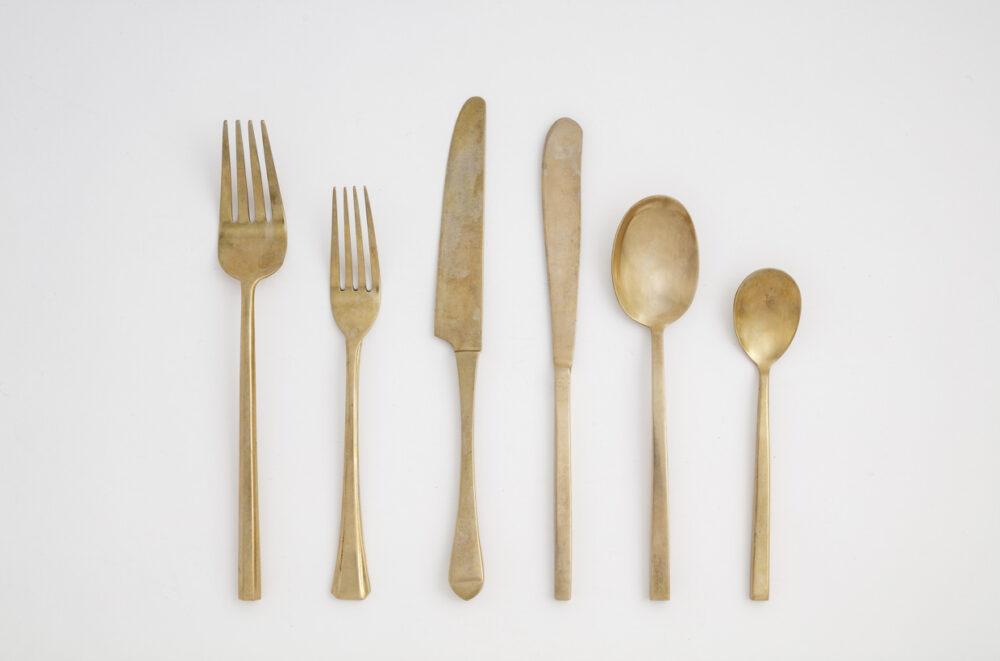 Hélène Millot - Rustic Bronze Cutlery