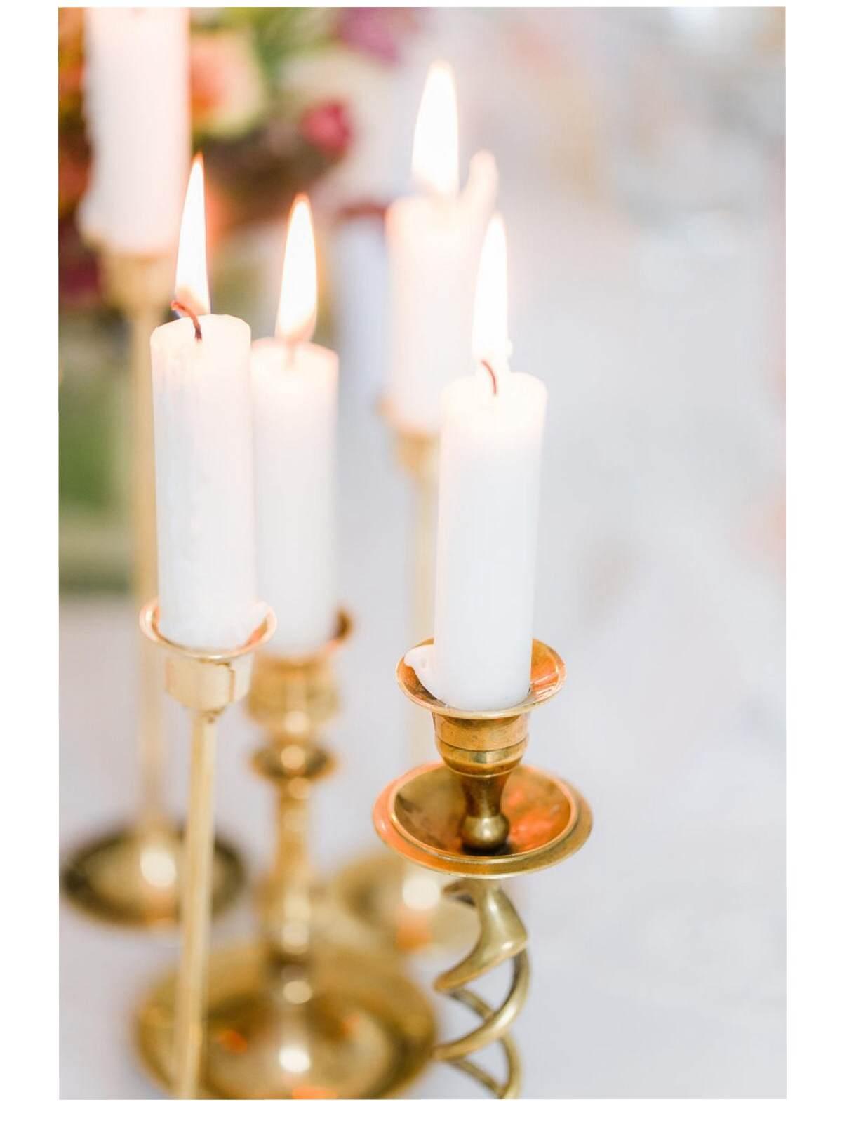 Hélène Millot - Brass Candlesticks